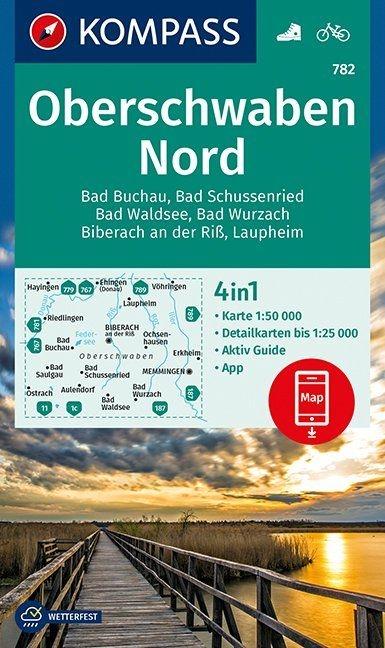 ,Oberschwaben Nord 1:50 000