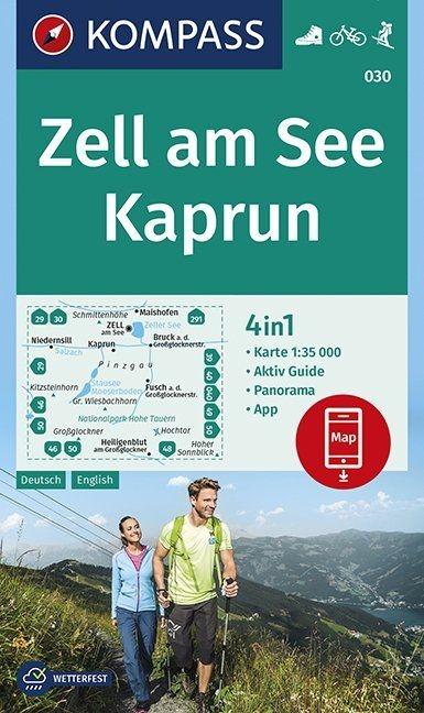 ,Zell am See, Kaprun 1:35 000