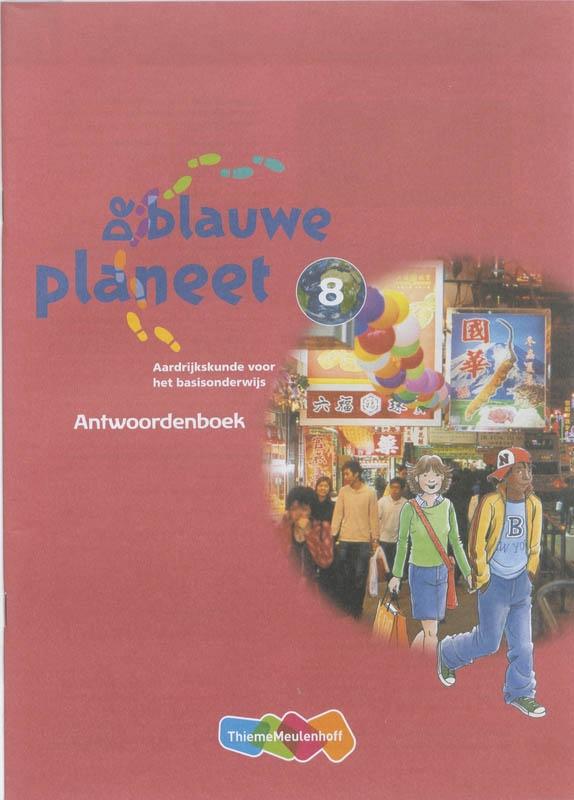 Roger Baltus, Marian Blankman, Annemarie van den Brink, Anneke Dorsman,De Blauwe Planeet Groep 8 Antwoordenboek