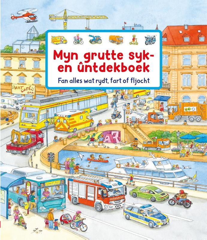 Susanne Gernhäuser,Myn grutte syk- en ûntdekboek