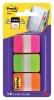 ,Indextabs 3M Post-it 686 strong 25.4x38mm roze/groen/oranje