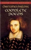 Marlowe, Christopher,Complete Poems