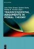 ,Transcendental Arguments in Moral Theory