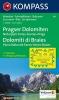 ,Pragser Dolomiten - Naturpark Fanes-Sennes-Prags - Dolomiti di Braies - Parco Naturale Fanes-Senes-Braies 1 : 25 000