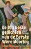 Geert  Buelens,De 100 beste gedichten van de Eerste Wereldoorlog