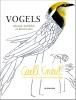,Vogels tekenen, krabbelen en kleuren met Carll Cneut
