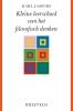<b>Karl  Jaspers</b>,Kleine leerschool van het filosofisch denken