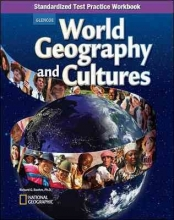 McGraw-Hill Education World Geography and Cultures, Standardized Test Practice Workbook