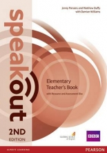 Parsons, Jenny,   Duffy, Matthew Speakout Elementary. Teacher`s Guide with Resource & Assessment Disc Pack