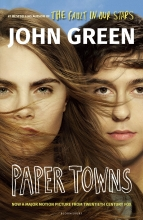 Green, John Paper Towns. Film Tie-In