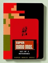 Super Mario Brothers Notebooks (Set of 3)