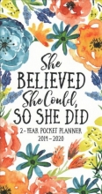 She Believed 2019-20 2 Year Pocket Planner