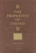 David Solway The Properties of Things