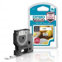 , Labeltape Dymo Durable 1978364 12mmx5,5m zwart op wit