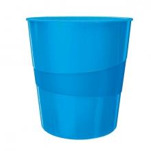 , Papierbak Leitz WOW 15liter blauw