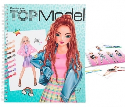 , Topmodel create your kleurboek