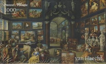, Puzzel kunstgallerij 2 - willem van haecht- ( mauritshuis ) 1000 stuks