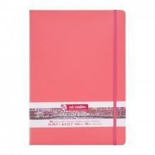 9314313m , Talens art creation schetsboek 80 vel 140gr a4 coral oranje