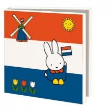 Wmc797 , Notecards 10 stuks 15x15 cm nijntje holland dick bruna
