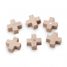 52.110.272 , Houten magneten voor vt wonen draadrek kruis 6 stuks