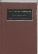 Justiz und NS Verbrechen 28 die vom 29.04.1968 bis zum 11.05.1968 ergangenen Strafurteiel Lfd. Nr. 672-677