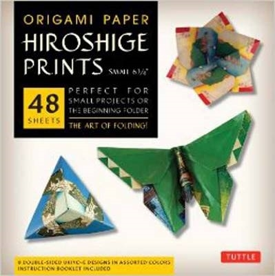 Tuttle,Origami Paper Hiroshige Prints Small