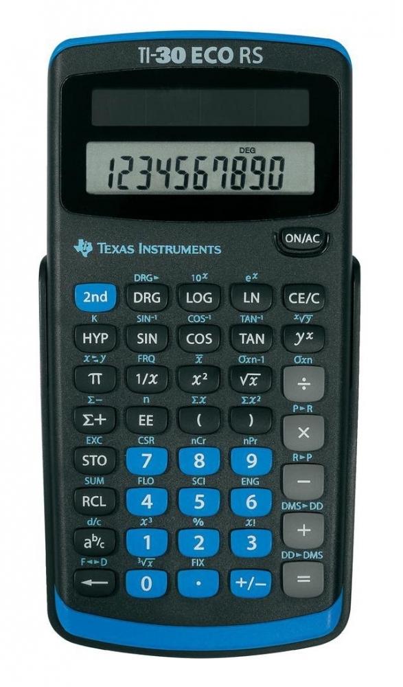 ,Rekenmachine TI-30 ECO RS