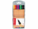 ,<b>Stabilo Fineliner point 88 Etui - 10 stuks</b>