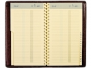 ,<b>Adresboek notaphone palermo spiraal zwart</b>