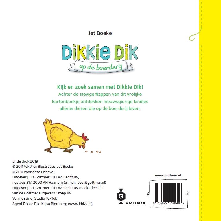 Jet Boeke,Dikkie Dik op de boerderij