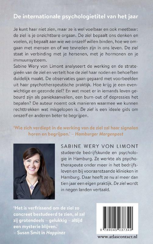Sabine Wery Von Limont, Jarka  Kubsova,De ziel