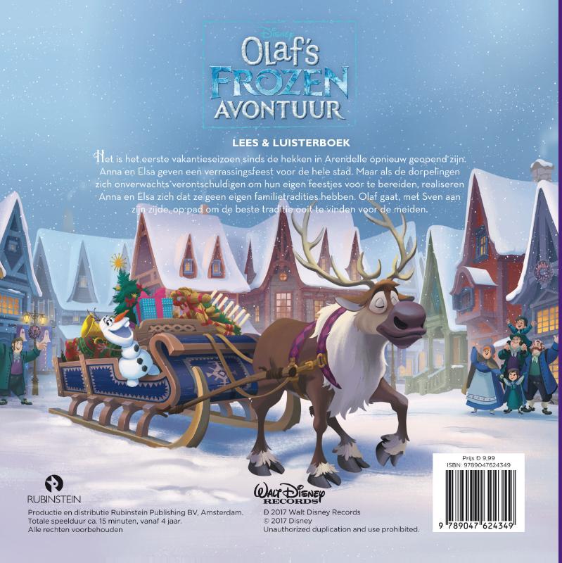 Disney Pixar,Olaf's Frozen avontuur