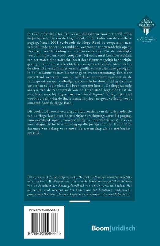Sara Arendse,De uiterlijke verschijningsvorm in het strafrecht