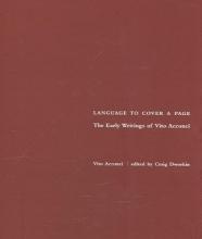 Acconci, Vito Language to Cover a Page