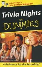 Lovett, Alan Trivia Nights For Dummies