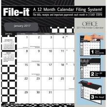 Office 2017 File-It Calendar