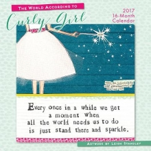 The World According to Curly Girl 2017 Calendar