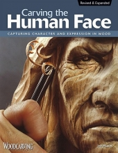 Jeff Phares Carving the Human Face, 2nd Edn, Rev & Exp
