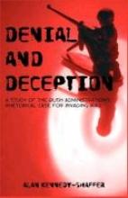 Alan Kennedy-Shaffer,Denial and Deception
