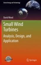 Wood, David Small Wind Turbines