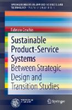 Fabrizio Ceschin Sustainable Product-Service Systems