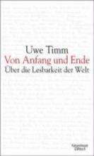 Timm, Uwe Von Anfang und Ende