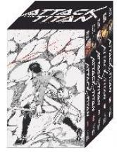 Isayama, Hajime Attack on Titan, Bände 1-5 im Sammelschuber mit Extra