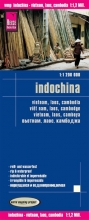 , Reise Know-How Landkarte Indochina 1 : 1.200.000 : Vietnam, Laos, Kambodscha