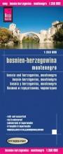 , Reise Know-How Landkarte Bosnien-Herzegowina, Montenegro 1 : 350.000