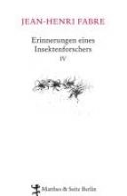 Fabre, Jean-Henri Erinnerungen eines Insektenforschers 04
