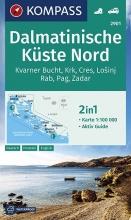 , Dalmatinische Küste Nord 1:100 000