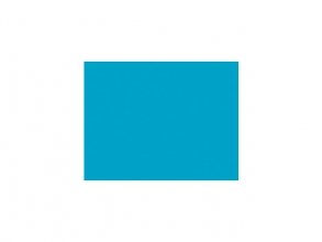 , tekenpapier Folia 50x70cm 130gr pak a 25 vel middenblauw
