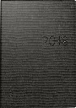 Buchkalender studioplan 2018 Tejo schwarz
