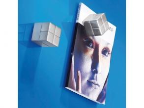 , magneet voor glasbord Sigel 20x20x20mm zilver extra sterk 1 stuk